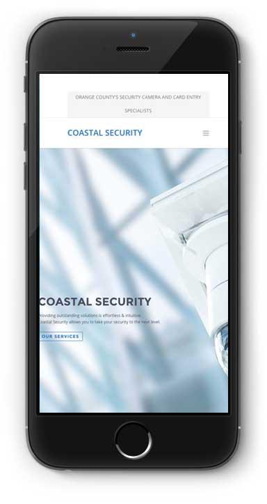 Coastal Security systems